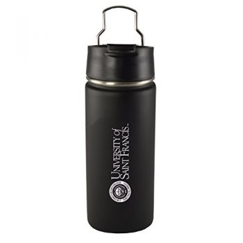 University of Saint Francis-Fort Wayne -20 oz. Travel Tumbler-Black