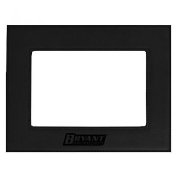 Bryant University-Velour Picture Frame 4x6-Black