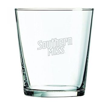 University of Southern Mississippi-13 oz. Rocks Glass
