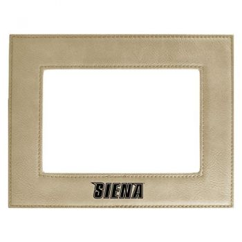 Siena College-Velour Picture Frame 4x6-Tan
