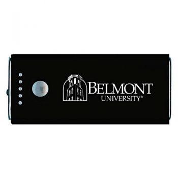Belmont University-Portable Cell Phone 5200 mAh Power Bank Charger -Black