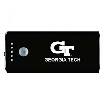 Georgia Institute of Technology -Portable Cell Phone 5200 mAh Power Bank Charger -Black