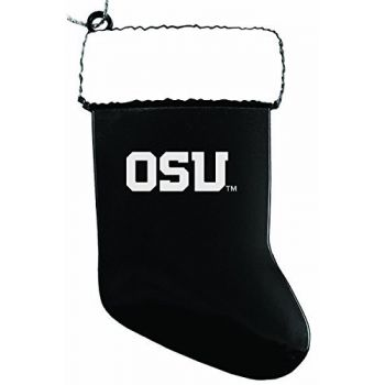 Oregon State University - Christmas Holiday Stocking Ornament - Orange