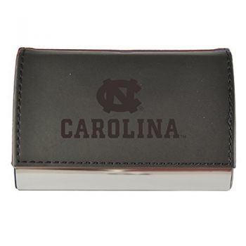 Velour Business Cardholder-University of North Carolina-Black