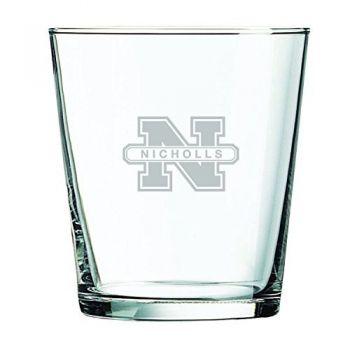 Nicholls State University -13 oz. Rocks Glass