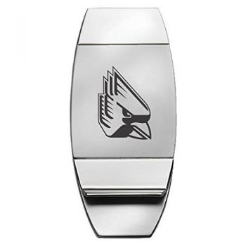 Ball State University - Two-Toned Money Clip - Silver