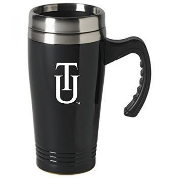 Tuskegee University-16 oz. Stainless Steel Mug-Black