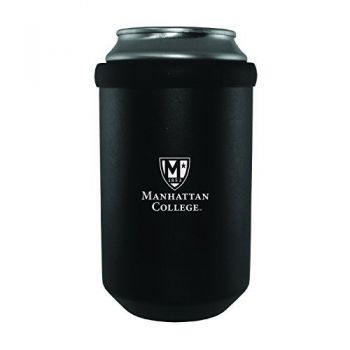 Manhattan College-Ultimate Tailgate Can Cooler-Black