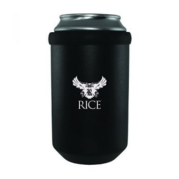 Rice University -Ultimate Tailgate Can Cooler-Black