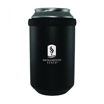 California State University -Ultimate Tailgate Can Cooler-Black