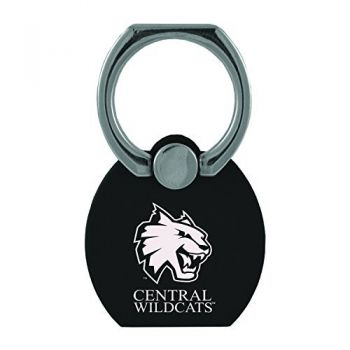 Central Washington University |Multi-Functional Phone Stand Tech Ring|Black