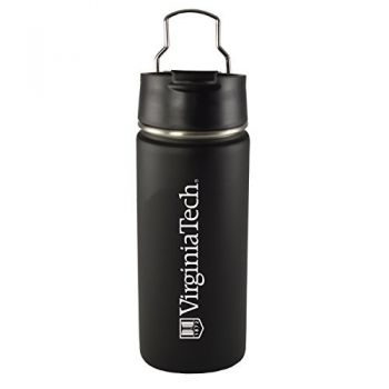 Virginia Tech -20 oz. Travel Tumbler-Black