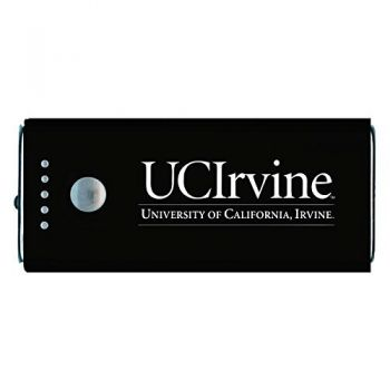 University of California, Irvine-Portable Cell Phone 5200 mAh Power Bank Charger -Black