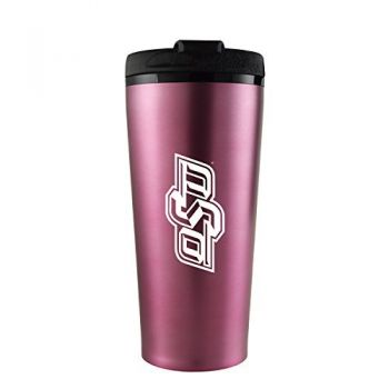 Oklahoma State University -16 oz. Travel Mug Tumbler-Pink