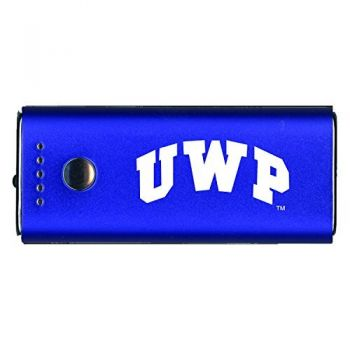 University of Wisconsin-Platteville-Portable Cell Phone 5200 mAh Power Bank Charger -Blue