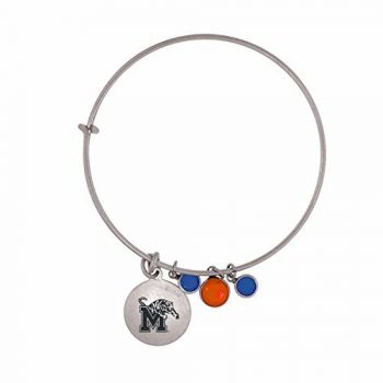 University of Memphis-Frankie Tyler Charmed Bracelet
