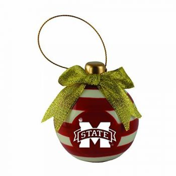 Mississippi State University -Christmas Bulb Ornament
