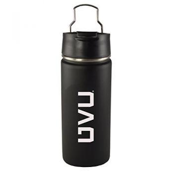 Utah Valley University -20 oz. Travel Tumbler-Black