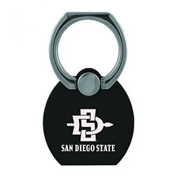 San Diego State University|Multi-Functional Phone Stand Tech Ring|Black