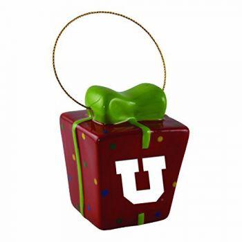 University of Utah-3D Ceramic Gift Box Ornament