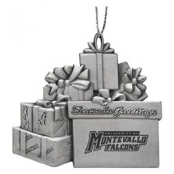 University of Montevallo - Pewter Gift Package Ornament