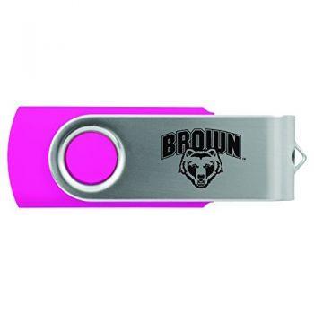 Brown University -8GB 2.0 USB Flash Drive-Pink