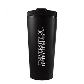 University of Detroit Mercy-16 oz. Travel Mug Tumbler-Black