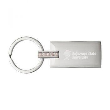 Delaware State University-Jeweled Key Tag