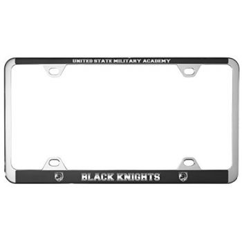 United States Military Academy -Metal License Plate Frame-Black