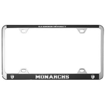 Old Dominion University -Metal License Plate Frame-Black