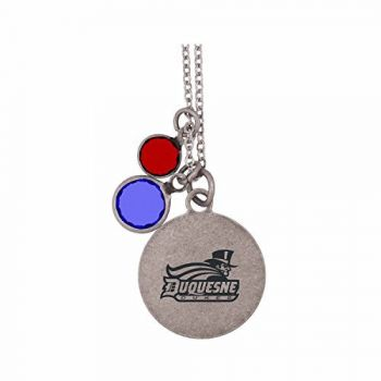 Duquesne University-Frankie Tyler by LXG Charmed Necklace