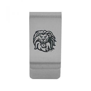 Loyola Marymount University|Money Clip with Contemporary Metals Finish|Solid Brass|High Tension Clip to Securely Hold Cash, Cards and ID's|Gold