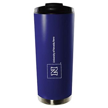 University of Nevada, Reno-16oz. Stainless Steel Vacuum Insulated Travel Mug Tumbler-Blue