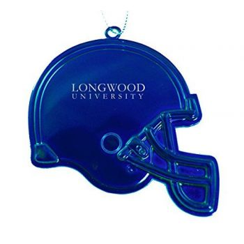Longwood University - Christmas Holiday Football Helmet Ornament - Blue