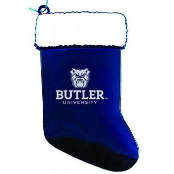 Butler University - Christmas Holiday Stocking Ornament - Blue