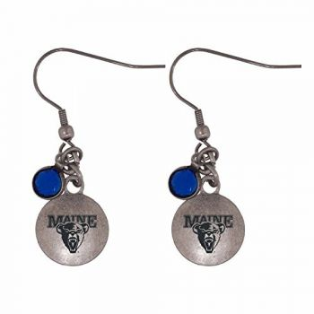 University of Maine-Frankie Tyler Charmed Earrings