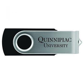 Quinnipiac University -8GB 2.0 USB Flash Drive-Black