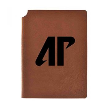 Austin Peay State University Velour Journal with Pen Holder|Carbon Etched|Officially Licensed Collegiate Journal|