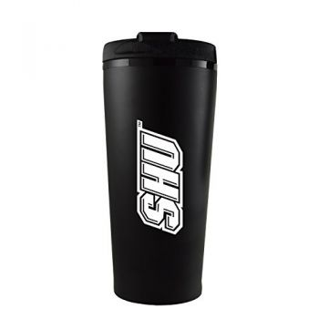 Sacred Heart University -16 oz. Travel Mug Tumbler-Black