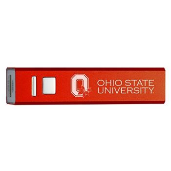 Ohio State University - Portable Cell Phone 2600 mAh Power Bank Charger - Red