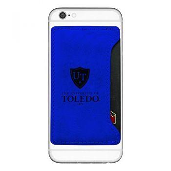 University of Toledo-Cell Phone Card Holder-Blue