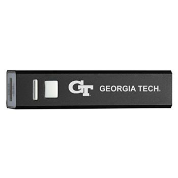 Georgia Institute of Technology - Portable Cell Phone 2600 mAh Power Bank Charger - Black