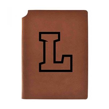 Lipscomb University Velour Journal with Pen Holder Carbon Etched Officially Licensed Collegiate Journal 