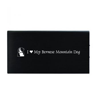 Quick Charge Portable Power Bank 8000 mAh  - I Love My Bernese Mountain Dog