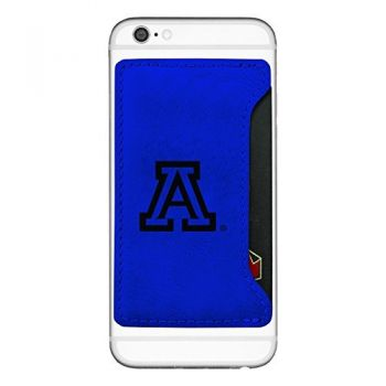 Arizona Wildcats-Cell Phone Card Holder-Blue