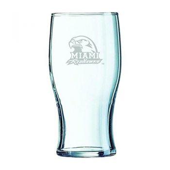 Miami University-Irish Pub Glass