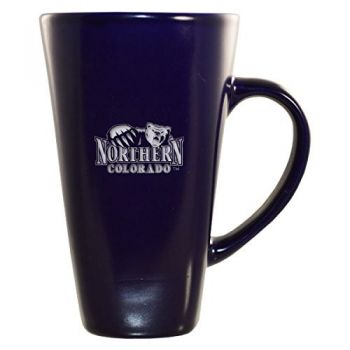 University of Northern Colorado -16 oz. Tall Ceramic Coffee Mug-Blue