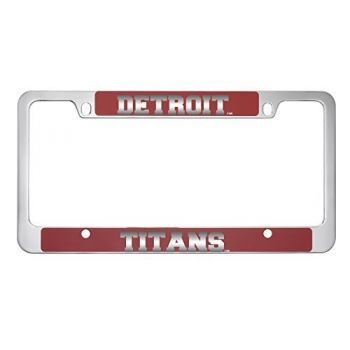 University of Detroit Mercy-Metal License Plate Frame-Red