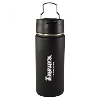 Loyola University Maryland-20 oz. Travel Tumbler-Black