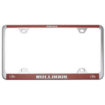 Gonzaga University -Metal License Plate Frame-Red